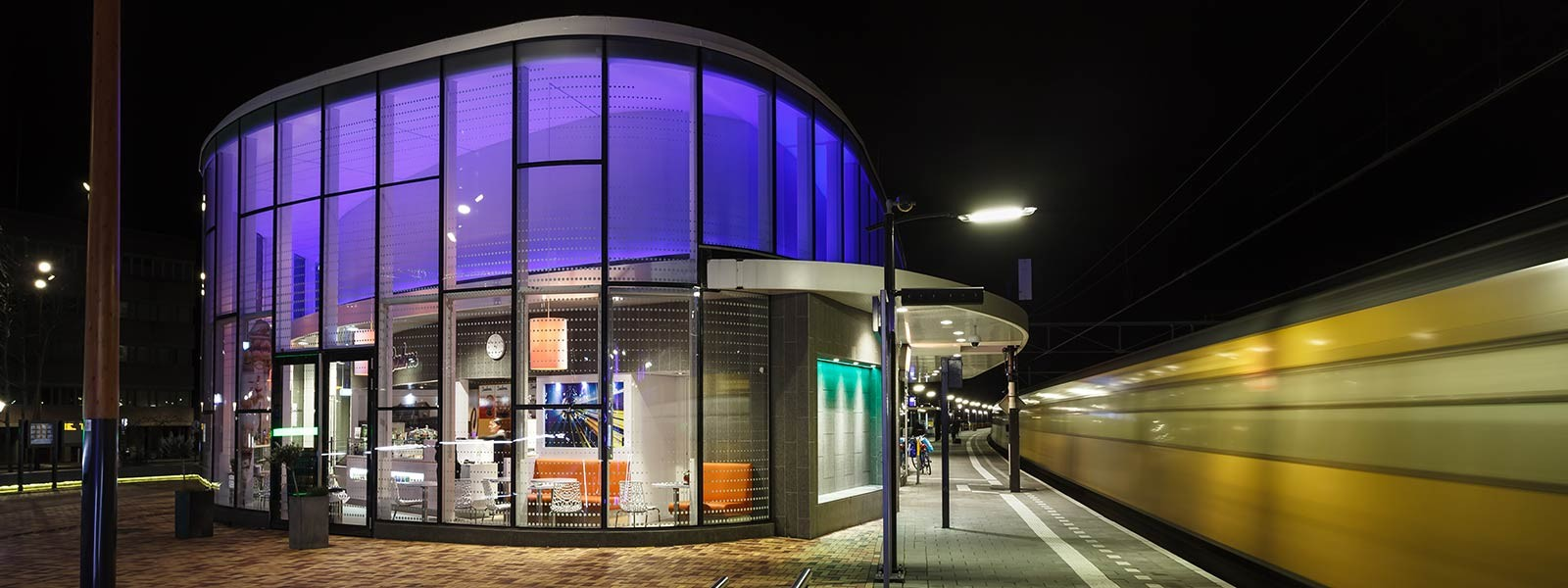 NS station, Helmond (inspiratie voor verlichtingsprojecten)