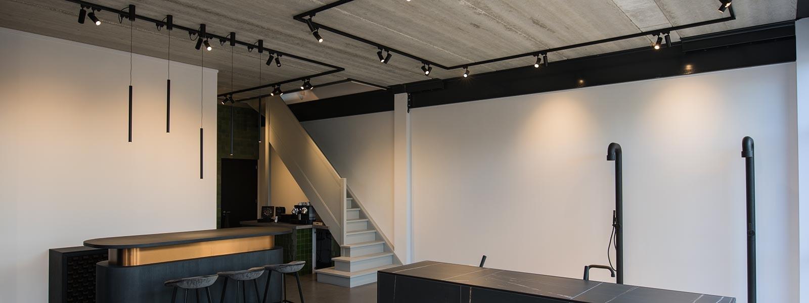 Showroom TGS, Huizen