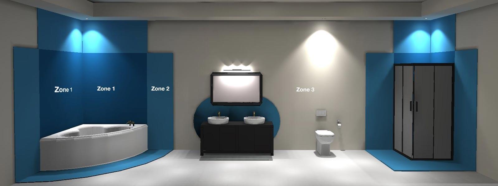 Lichtplan maken voor een badkamer